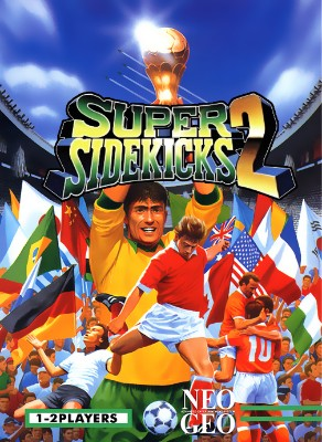 Super Sidekicks 2 Cover Art
