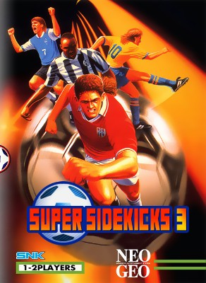 Super Sidekicks 3 Cover Art