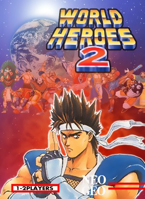 World Heroes 2 Cover Art