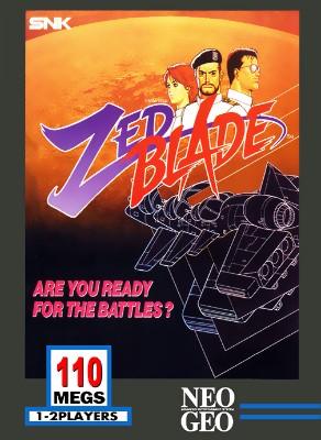 Zed Blade Cover Art