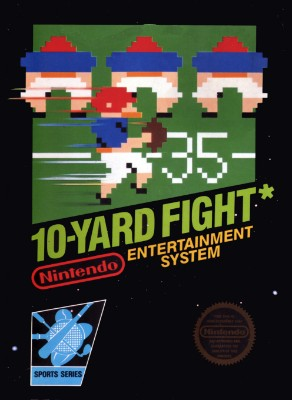 10-Yard Fight Cover Art
