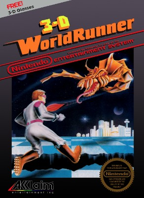 3-D World Runner Cover Art