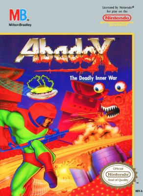 Abadox: The Deadly Inner War Cover Art