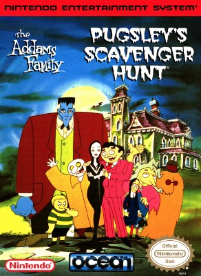 Addams Family: Pugsley's Scavenger Hunt Cover Art