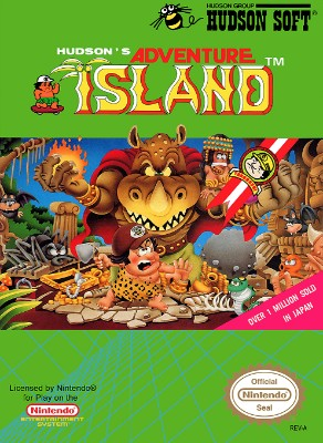 Adventure Island Cover Art