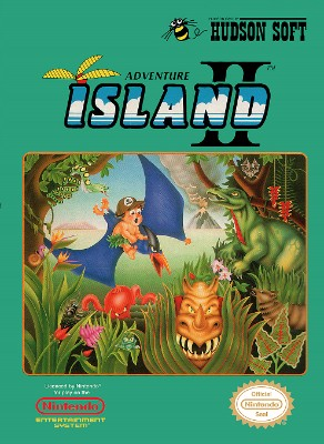 Adventure Island II Cover Art