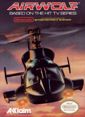 Airwolf Cover Art