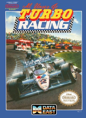 Al Unser Jr. Turbo Racing Cover Art