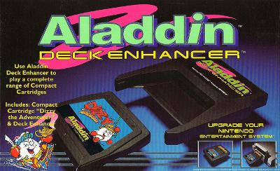 Aladdin Deck Enhancer Cover Art