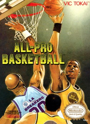 All-Pro Basketball Cover Art