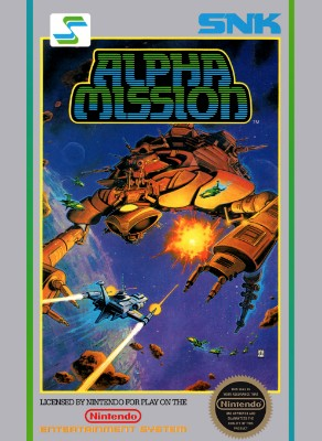 Alpha Mission Cover Art