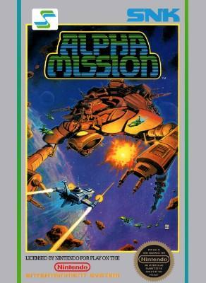Alpha Mission [5 Screw] Cover Art