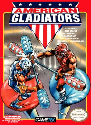 American Gladiators Cover Art