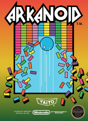 Arkanoid Cover Art