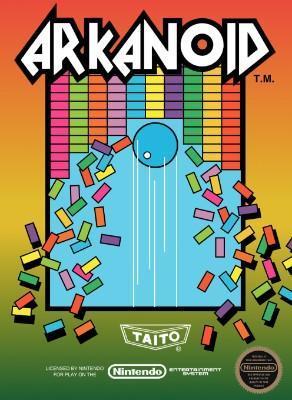 Arkanoid [5 Screw] Cover Art
