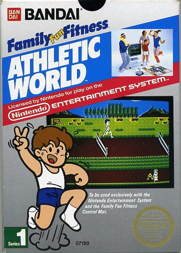 Athletic World, Family Fun Fitness Cover Art
