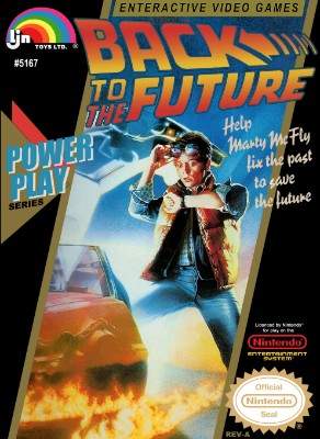 Back to the Future Cover Art