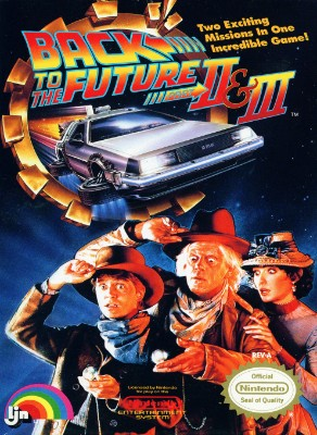Back to the Future II & III Cover Art