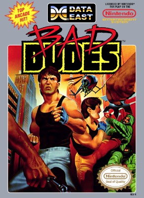 Bad Dudes Cover Art