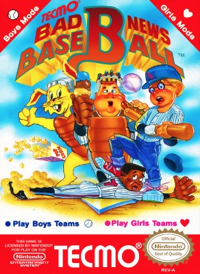 Bad News Baseball Cover Art