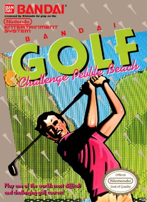 Bandai Golf: Challenge Pebble Beach Cover Art