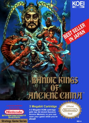 Bandit Kings of Ancient China Cover Art