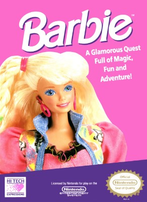 Barbie Cover Art