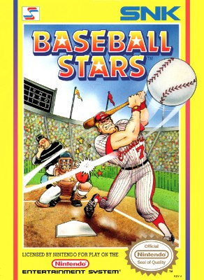 Baseball Stars Cover Art