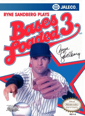 Bases Loaded 3, Ryne Sandberg Plays Cover Art