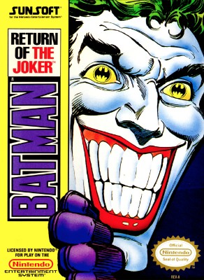 Batman: Return of the Joker Cover Art