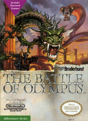 Battle of Olympus, The Cover Art