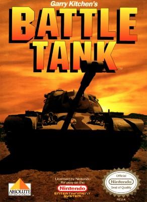Garry Kitchen's Battle Tank Cover Art