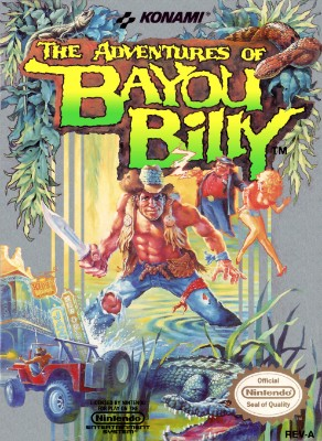Adventures of Bayou Billy Cover Art