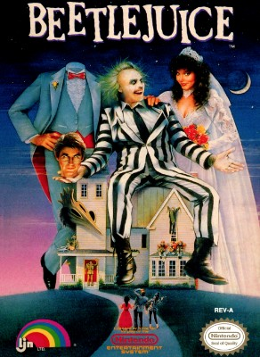 Beetlejuice Cover Art