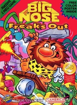 Big Nose Freaks Out Cover Art