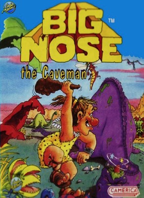 Big Nose the Caveman Cover Art