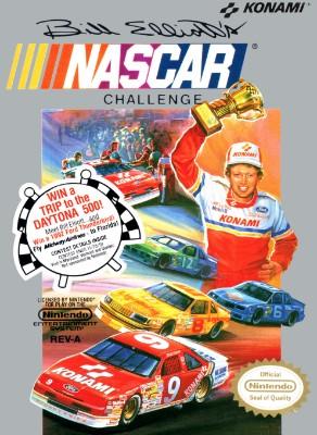 Bill Elliott's NASCAR Challenge Cover Art