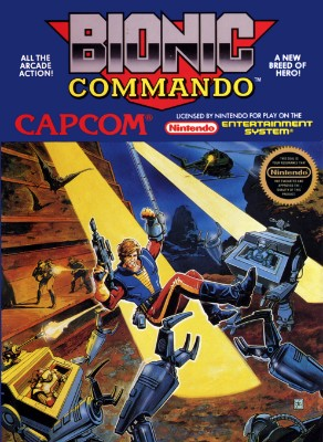 Bionic Commando Cover Art