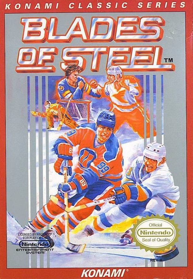 Blades of Steel [Red Label] Cover Art