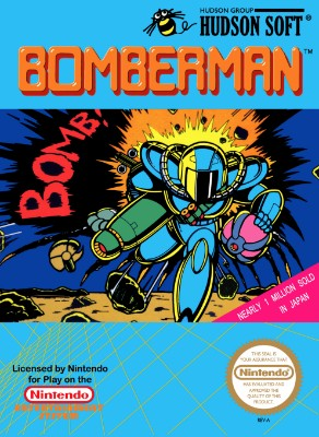 Bomberman Cover Art