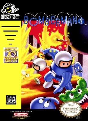 Bomberman II Cover Art