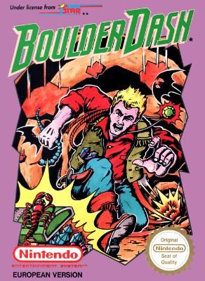 Boulder Dash Cover Art