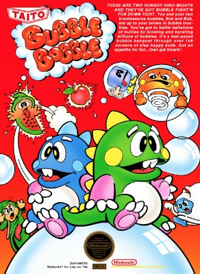 Bubble Bobble Cover Art