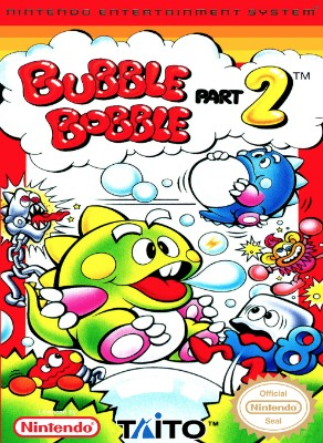 Bubble Bobble Part 2 Cover Art
