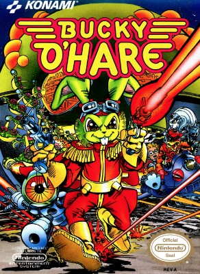 Bucky O'Hare Cover Art