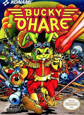 Bucky O'Hare Cover Art