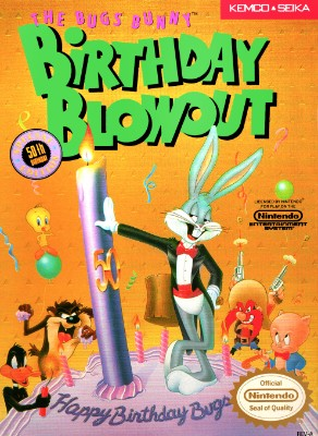 Bugs Bunny Birthday Blowout Cover Art
