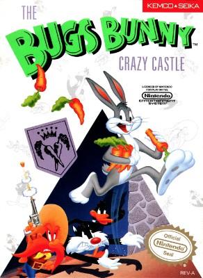 Bugs Bunny Crazy Castle Cover Art