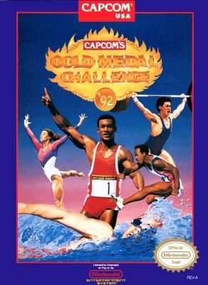 Capcom's Gold Medal Challenge '92 Cover Art