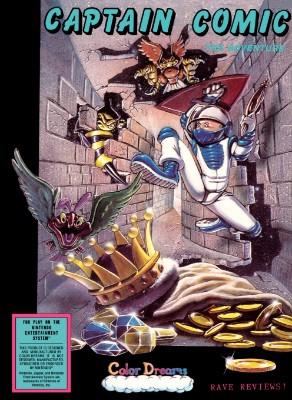 Captain Comic: The Adventure [Blue] Cover Art